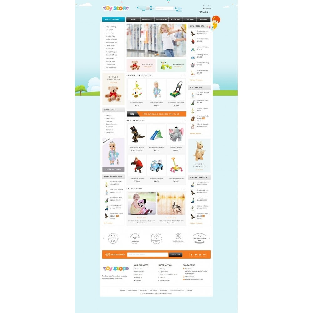 theme - Enfants & Jouets - Kids & Toys Shop - 2
