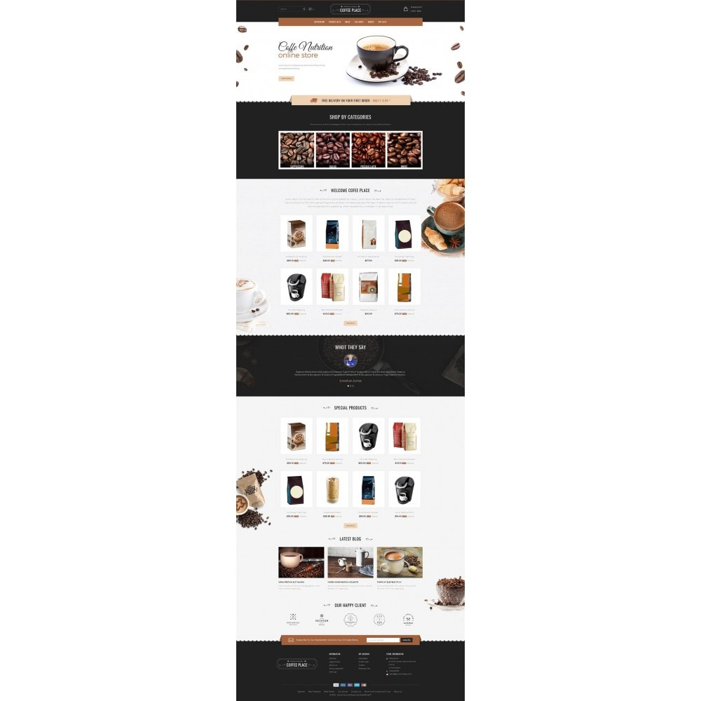 theme - Lebensmittel & Restaurants - Coffee Place Shop - 2