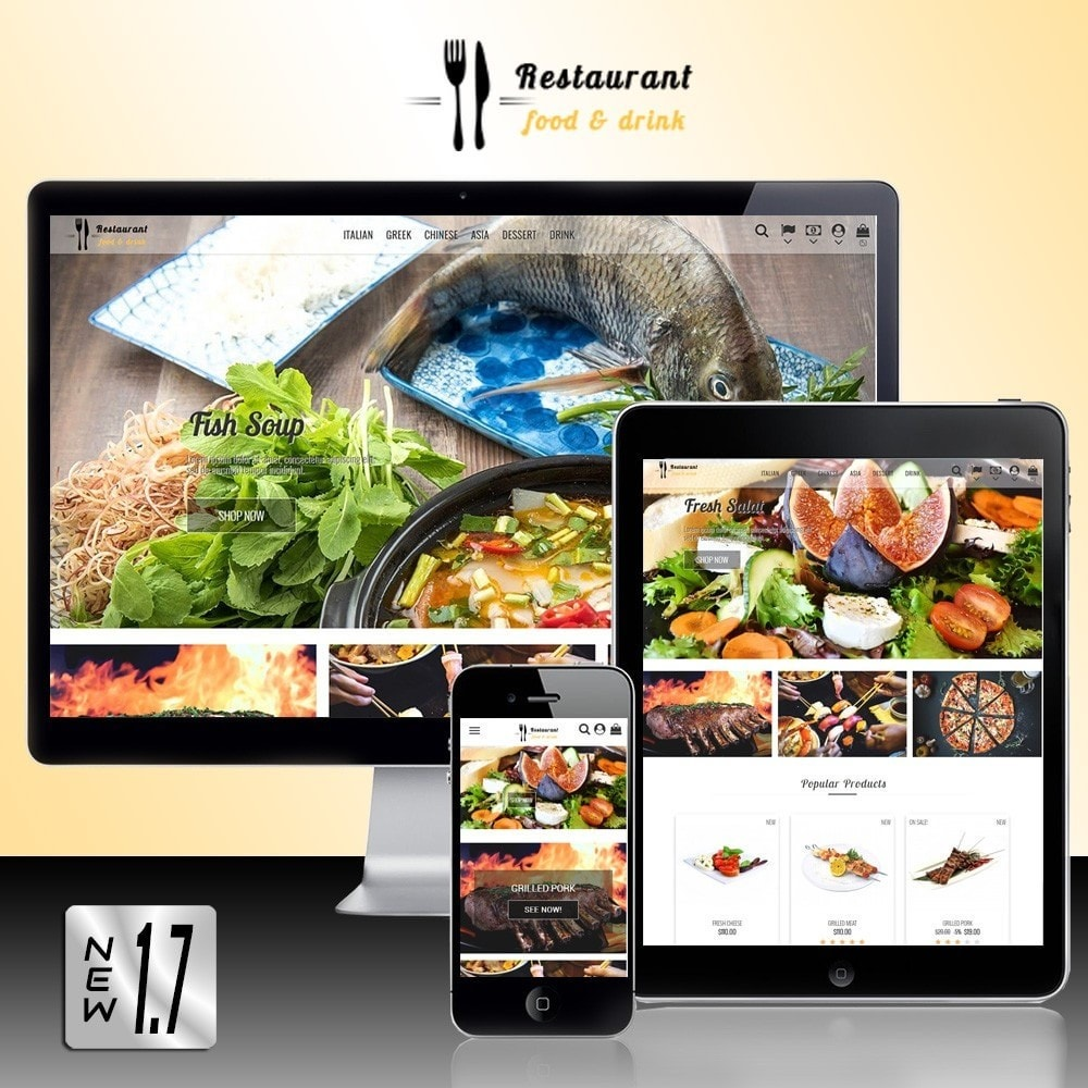 theme - Alimentation & Restauration - Restaurant Food - 1