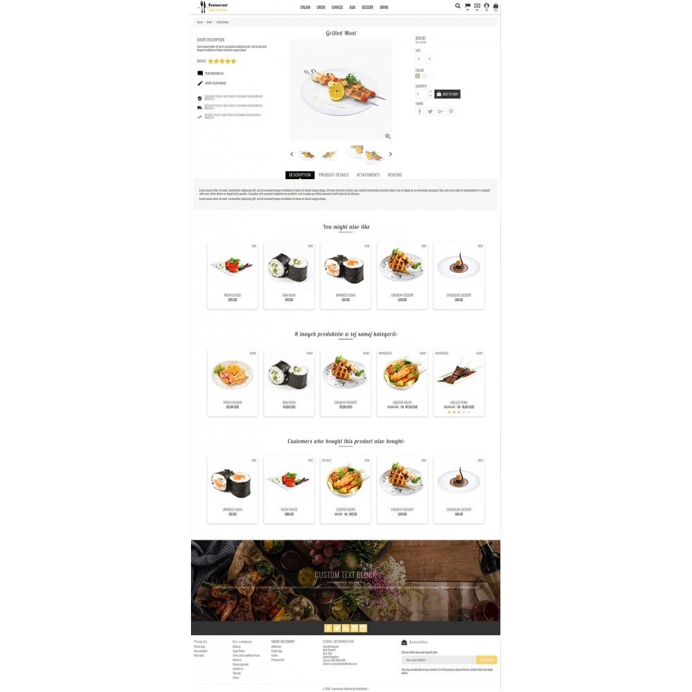 theme - Eten & Restaurant - Restaurant Food - 3
