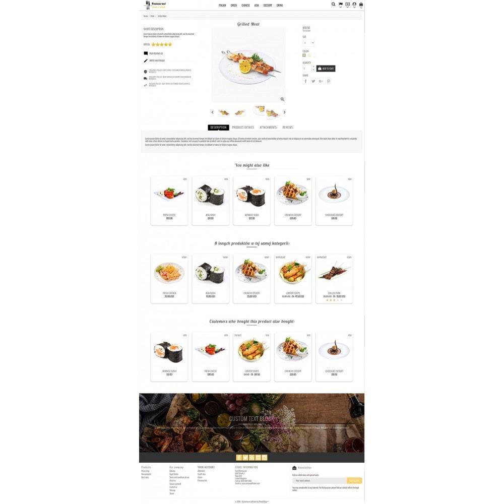 theme - Żywność & Restauracje - Restaurant Food - 4