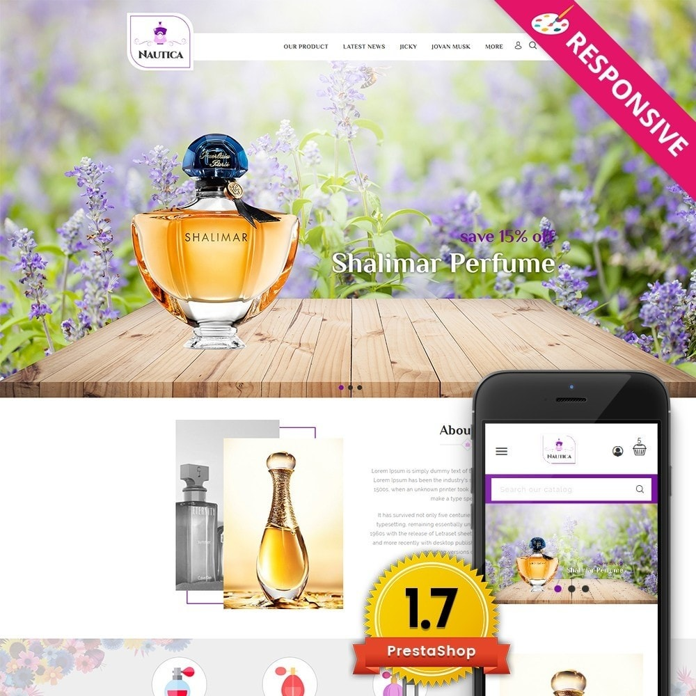 theme - Health & Beauty - Nautica Perfume Store - 1