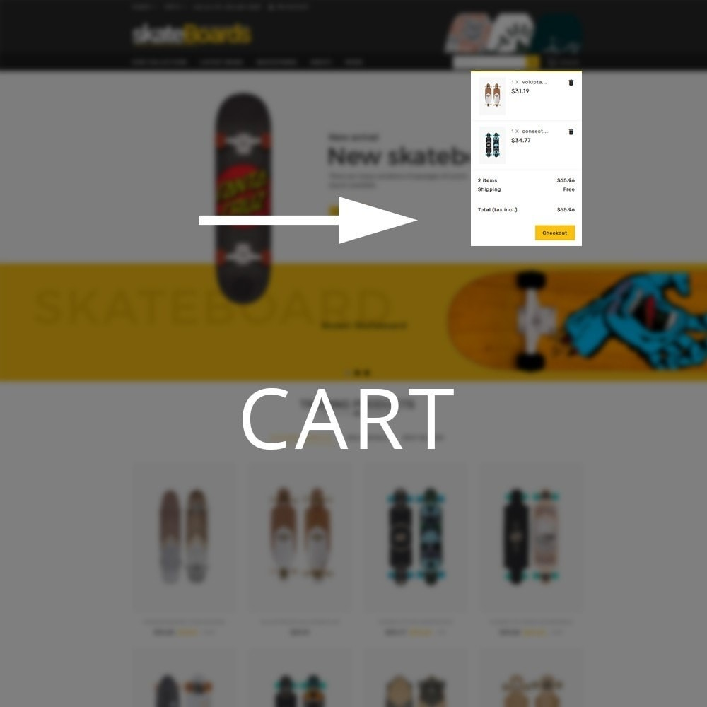 theme - Sports, Activities & Travel - Skateboard Sport Store - 9