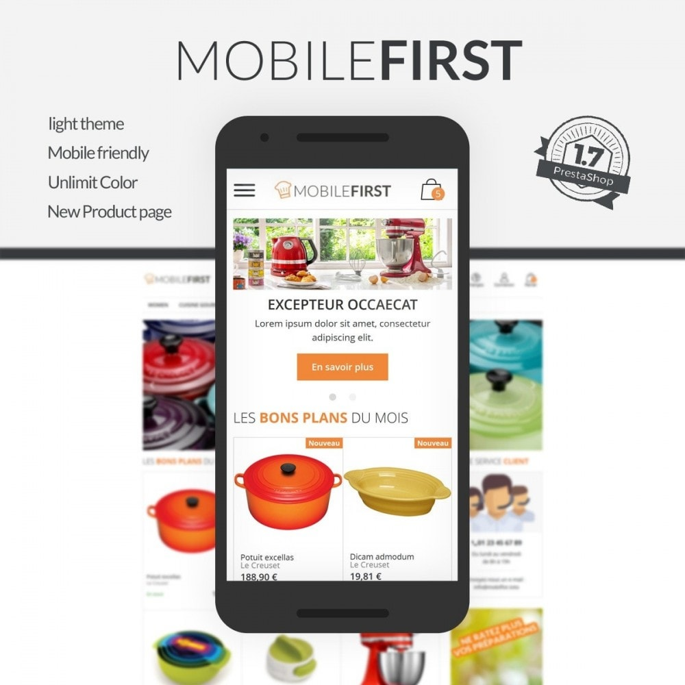 theme - Eten & Restaurant - Mobilefirst - 1