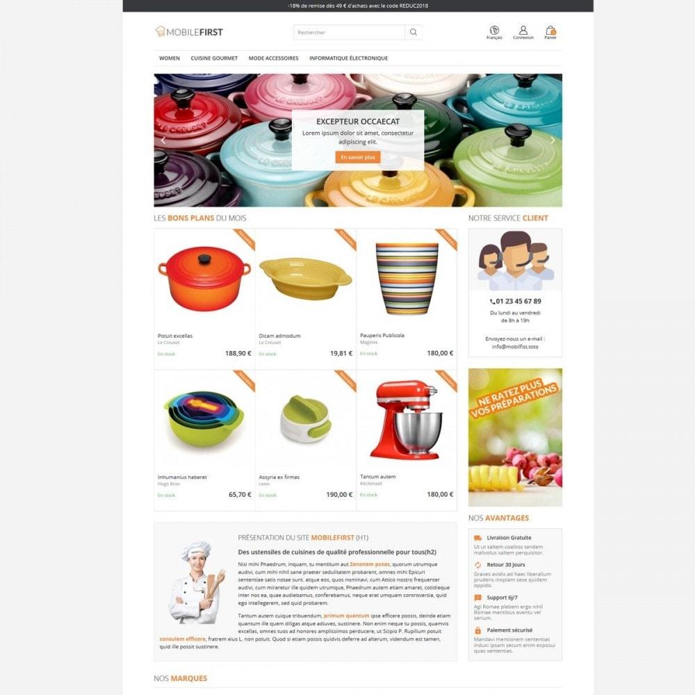theme - Alimentation & Restauration - Mobilefirst - 4