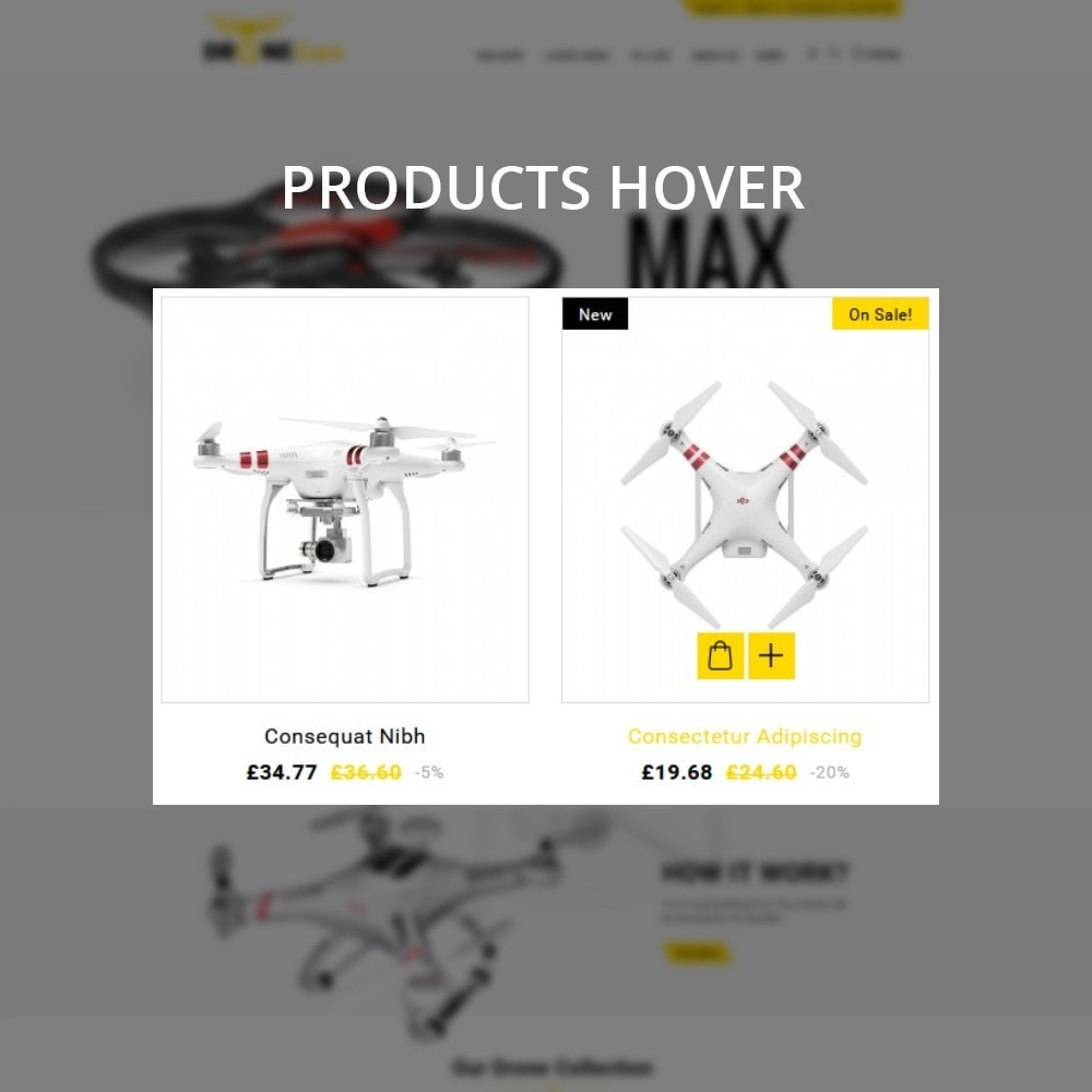 theme - Eletrônicos & High Tech - DroneCam Camera Store - 11
