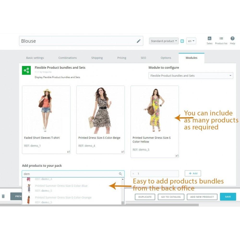 module - Sprzedaż krzyżowa & Pakiety produktów - Flexible Product bundles - 5