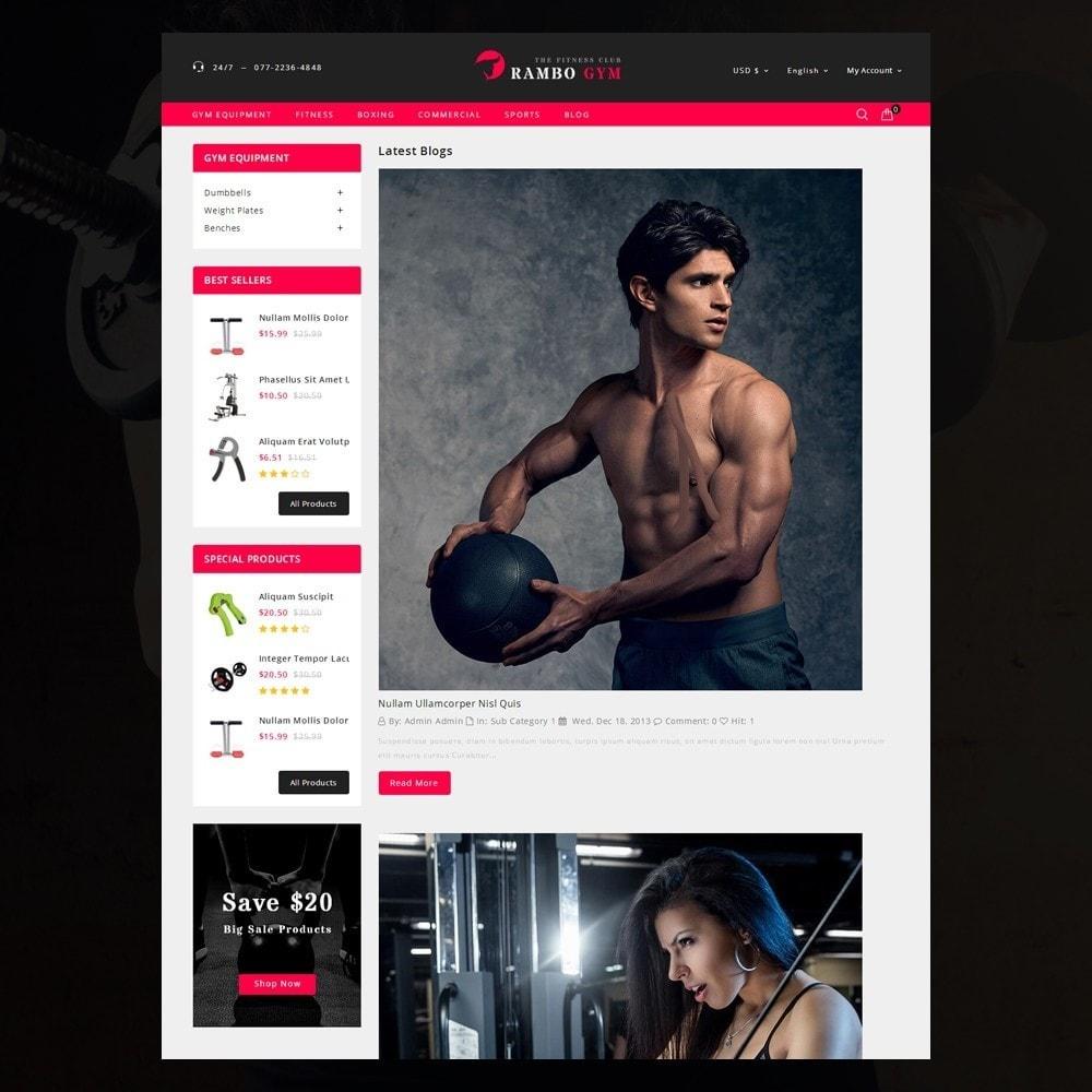 theme - Здоровье и красота - Rambo Gym - Fitness - 7