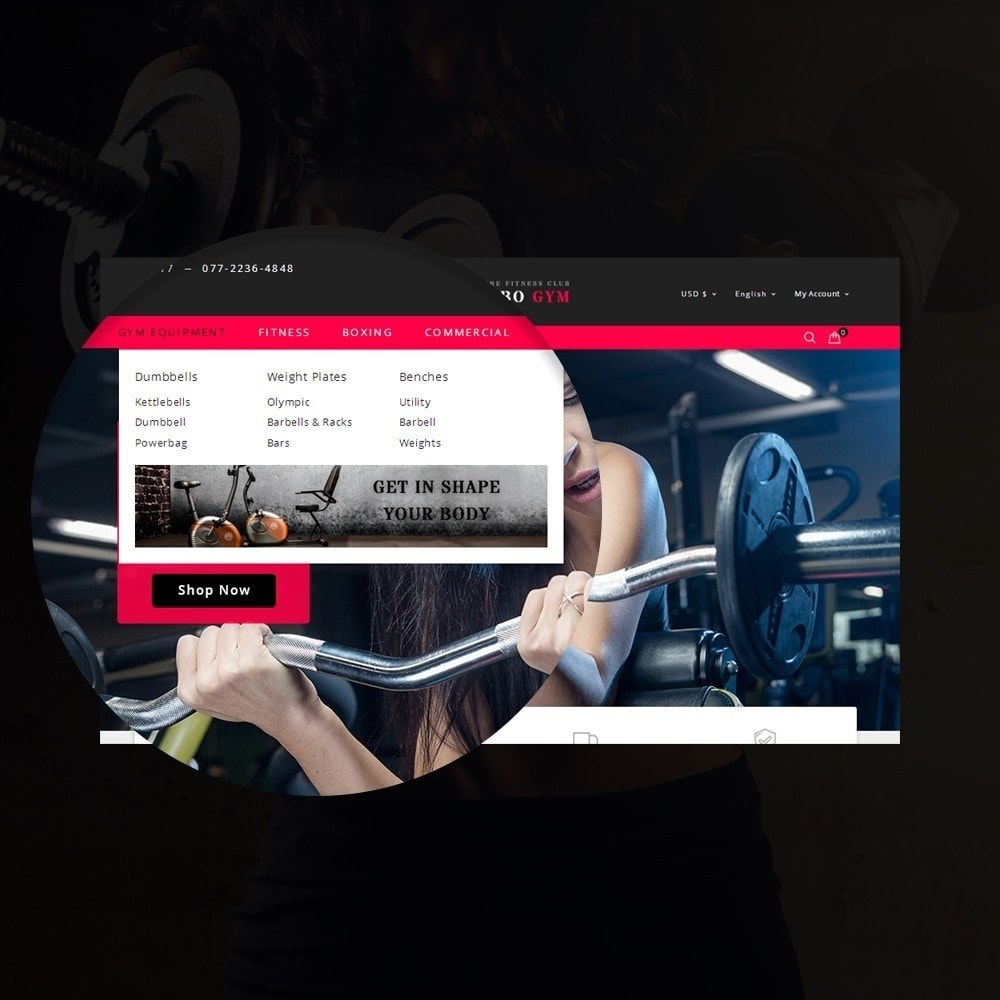 theme - Здоровье и красота - Rambo Gym - Fitness - 9