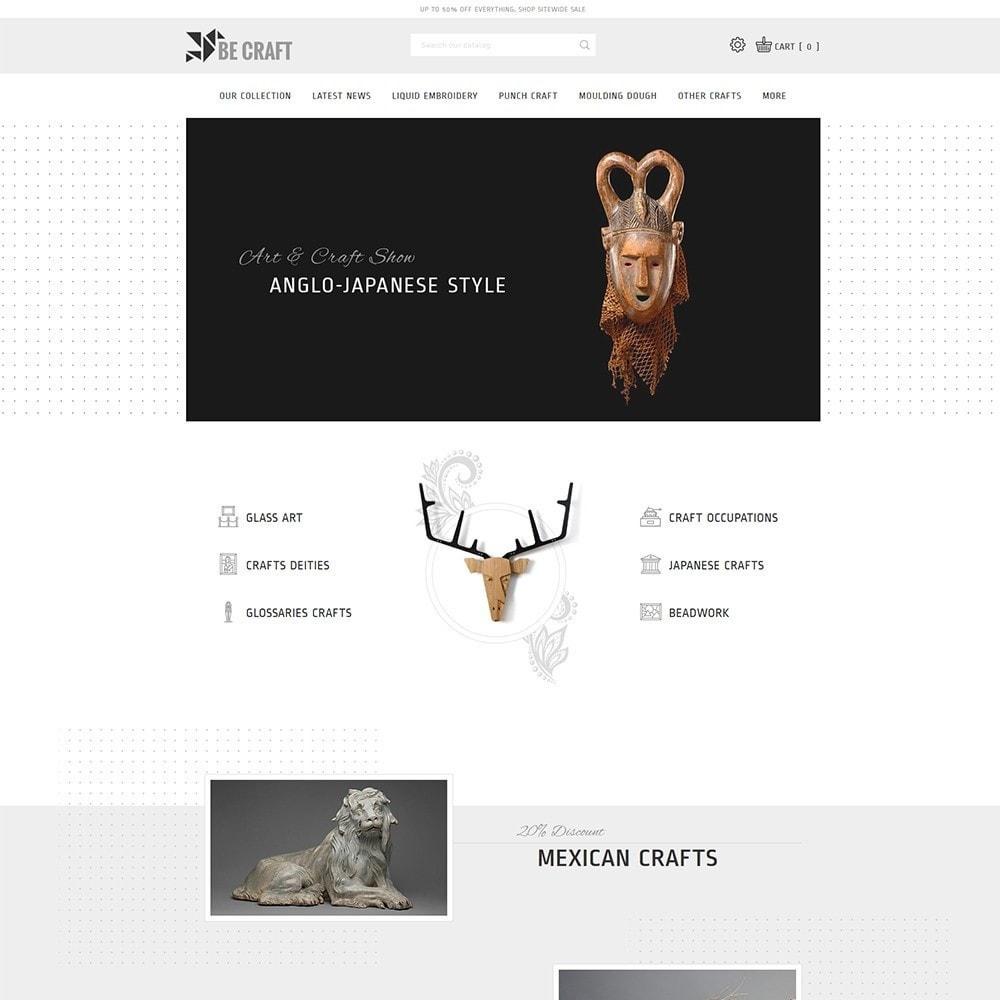 theme - Art & Culture - BeCraft Art Store - 2