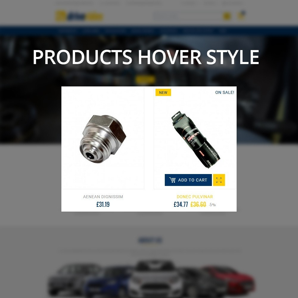 theme - Automotive & Cars - Driverides Motor Shop - 10