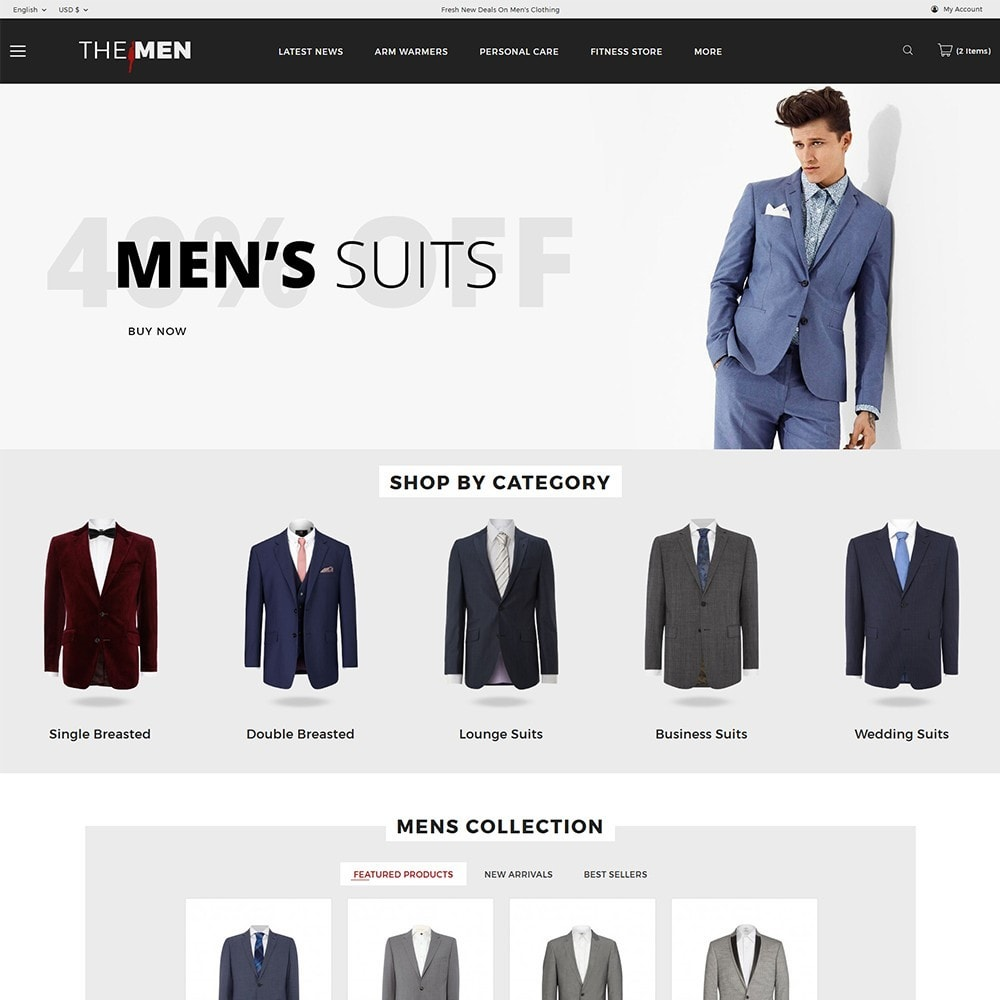 theme - Мода и обувь - TheMan Fashion Store - 2