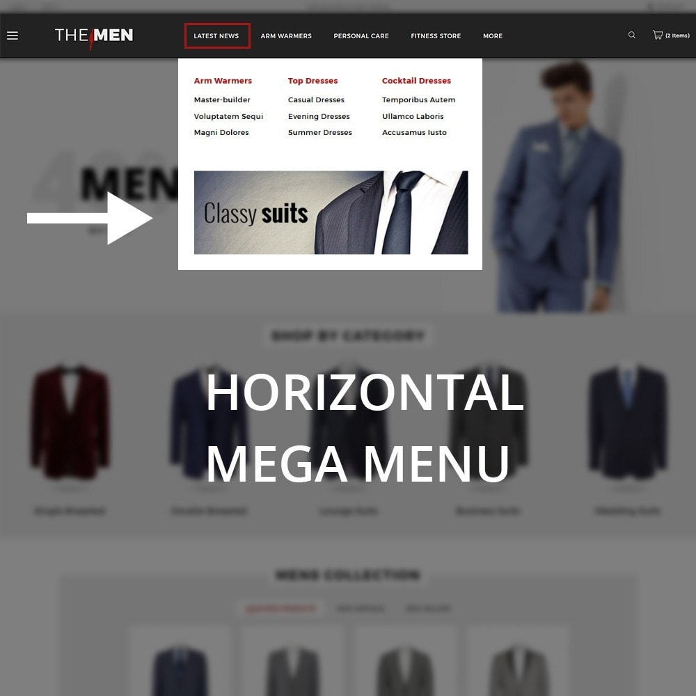 theme - Мода и обувь - TheMan Fashion Store - 11