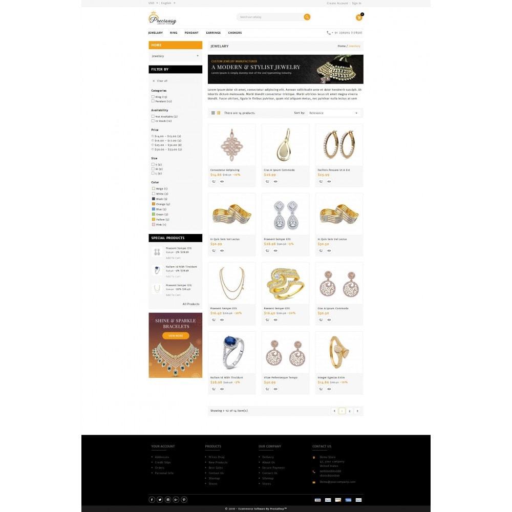 theme - Jewelry & Accessories - Preciousy Jewelry Store - 3