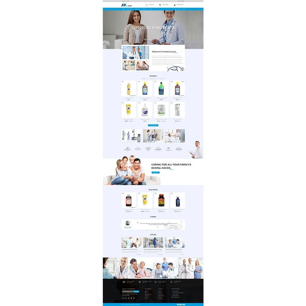 theme - Gesundheit & Schönheit - Medical Demo Store - 2