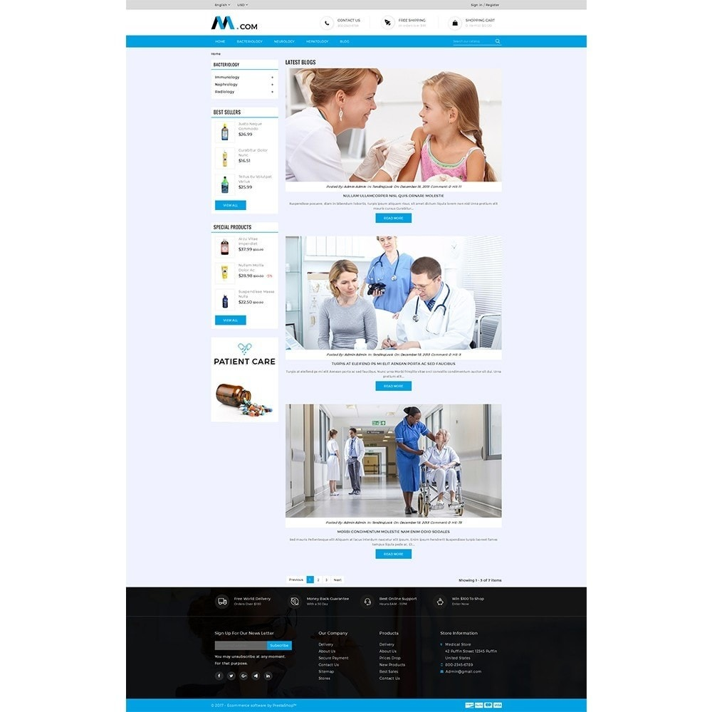 theme - Gesundheit & Schönheit - Medical Demo Store - 8