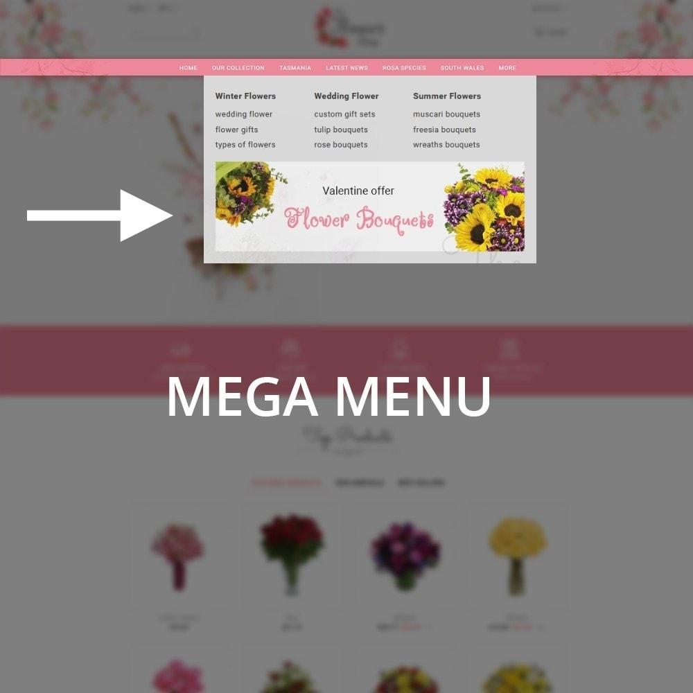 theme - Regalos, Flores y Celebraciones - The Flower Shop - 7