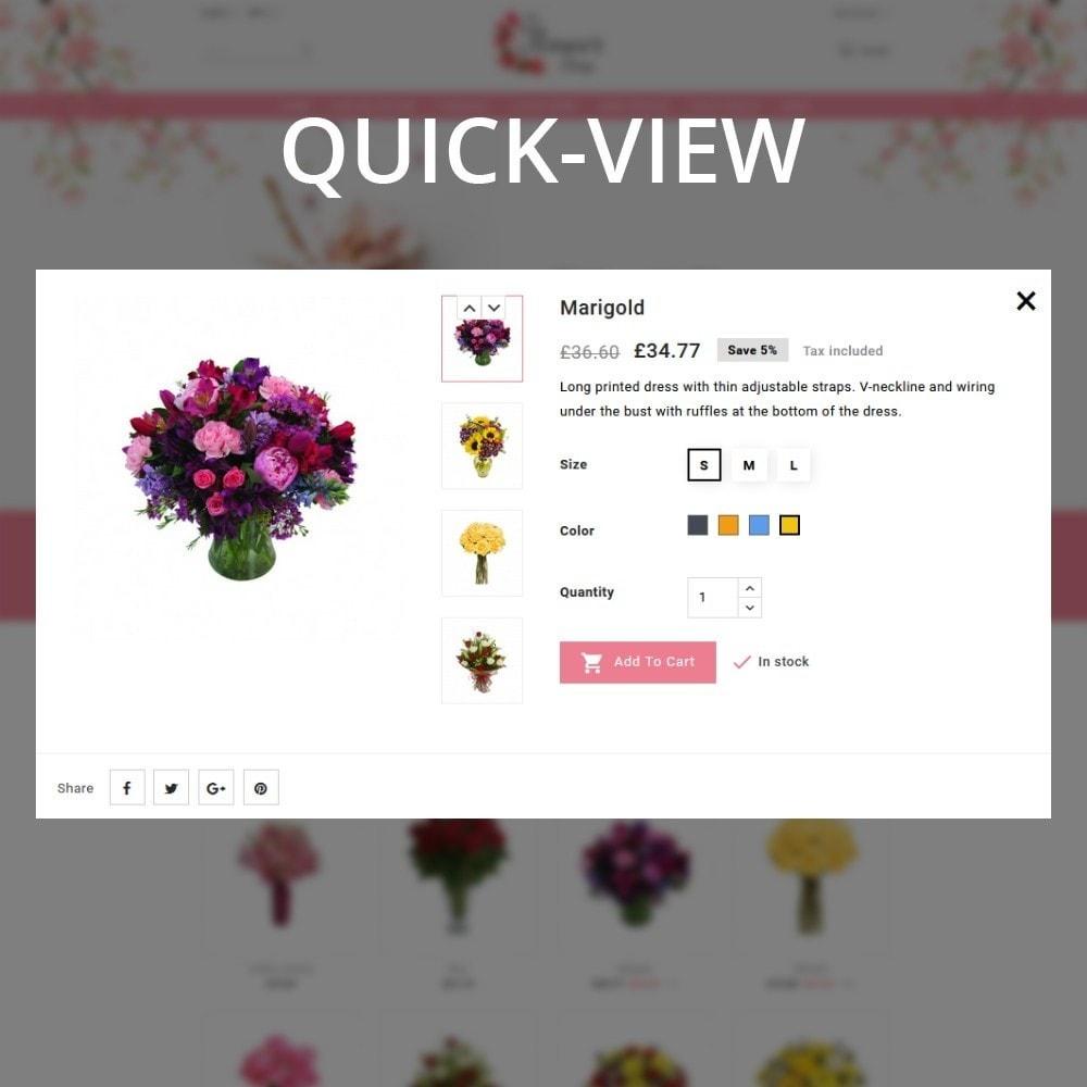 theme - Regalos, Flores y Celebraciones - The Flower Shop - 10