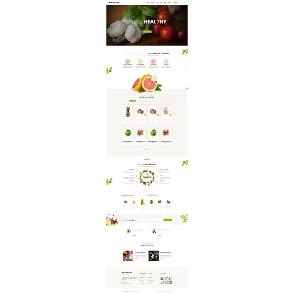 theme - Продовольствие и рестораны - FoodStore - 7