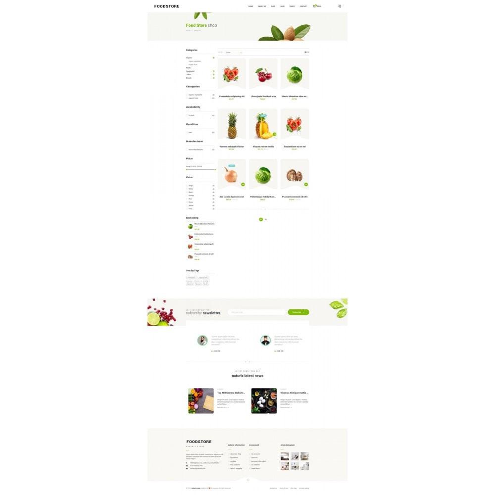 theme - Продовольствие и рестораны - FoodStore - 8