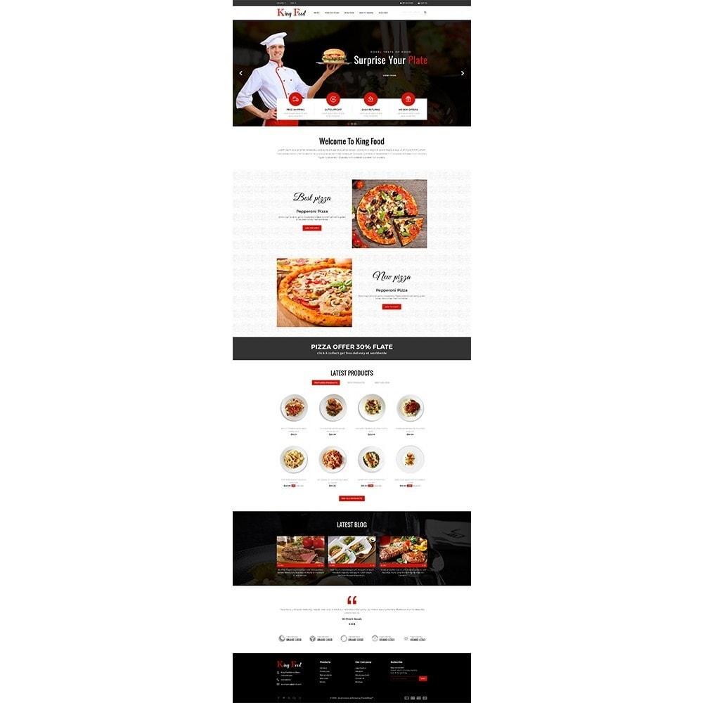 theme - Gastronomía y Restauración - King Food Store - 2