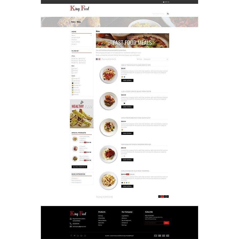theme - Gastronomía y Restauración - King Food Store - 4