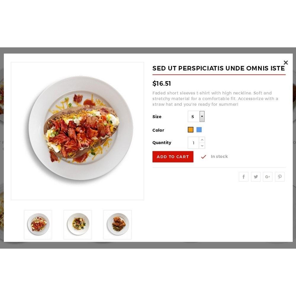 theme - Gastronomía y Restauración - King Food Store - 7
