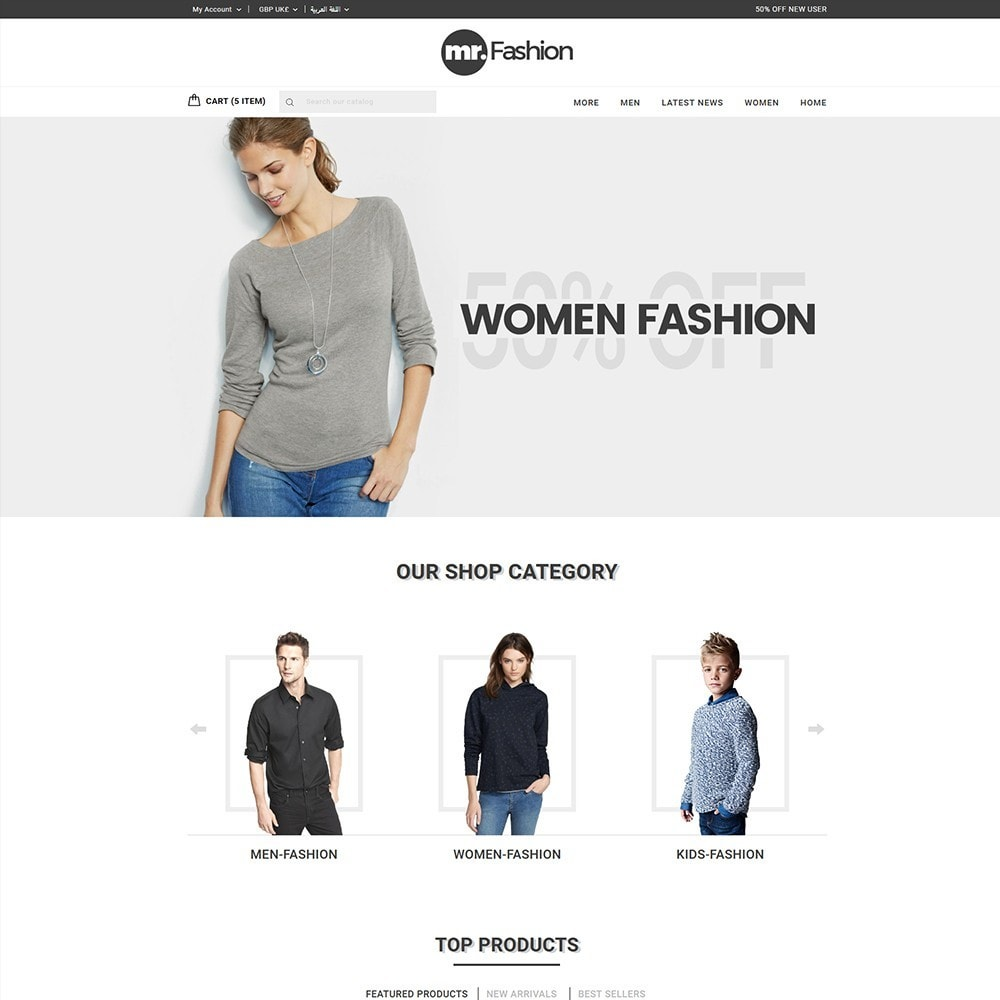 theme - Moda & Calzature - MR Fashion Store - 2