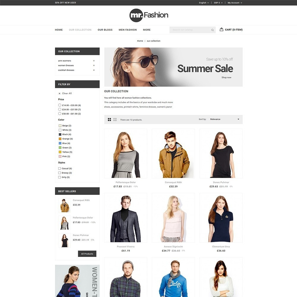 theme - Moda & Calzature - MR Fashion Store - 4