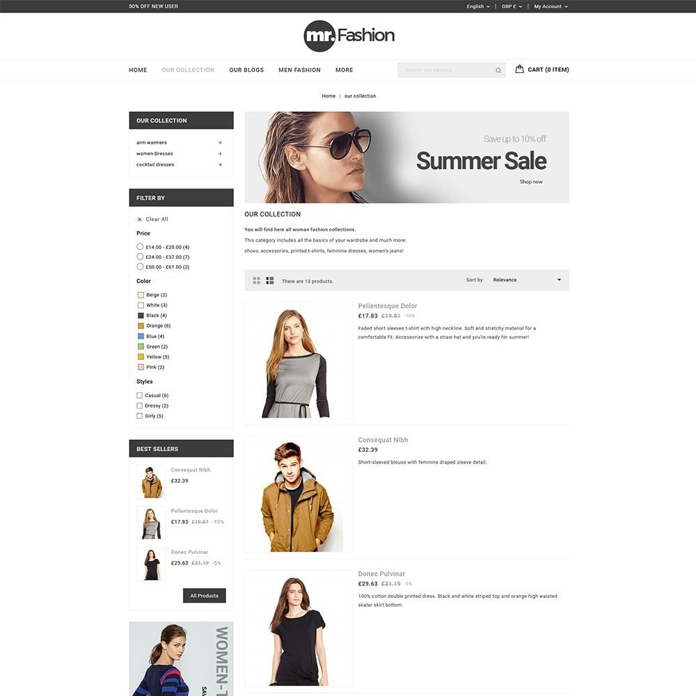 theme - Moda & Calzature - MR Fashion Store - 5