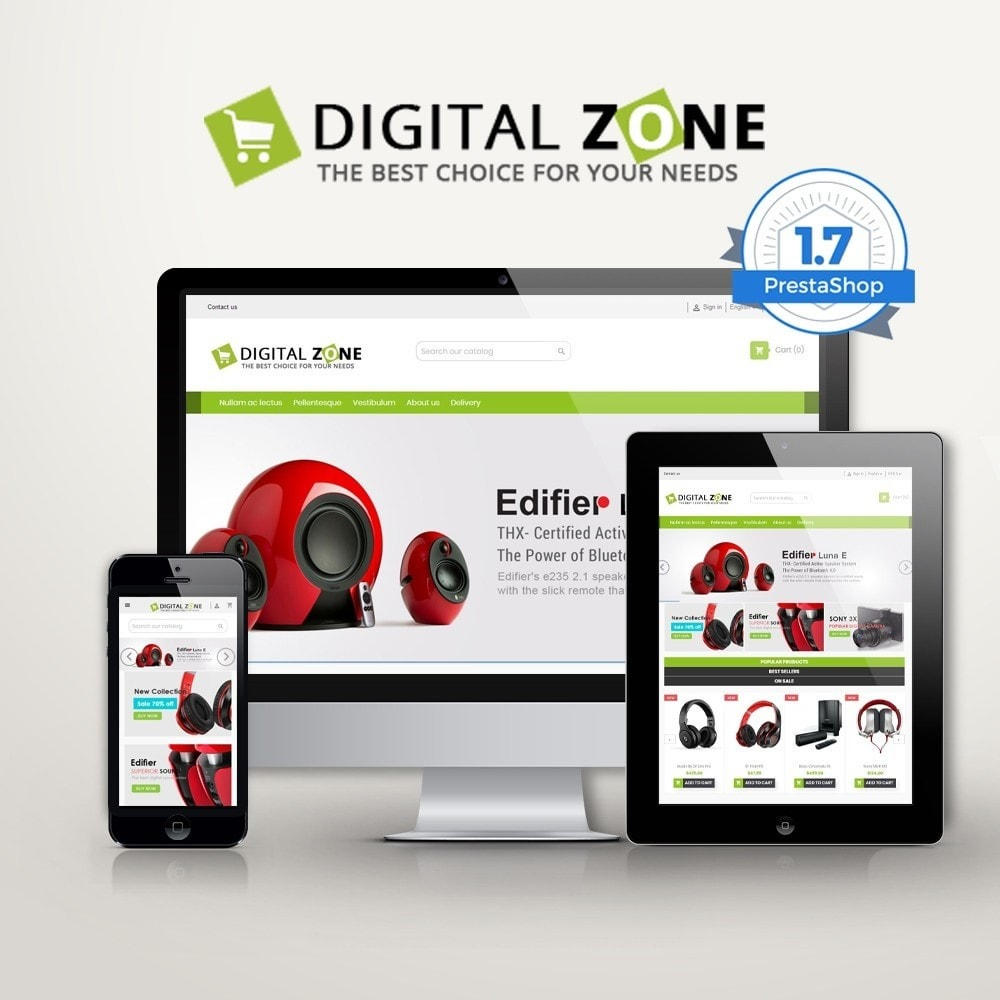 Digitalzone Multi-purpose HTML5