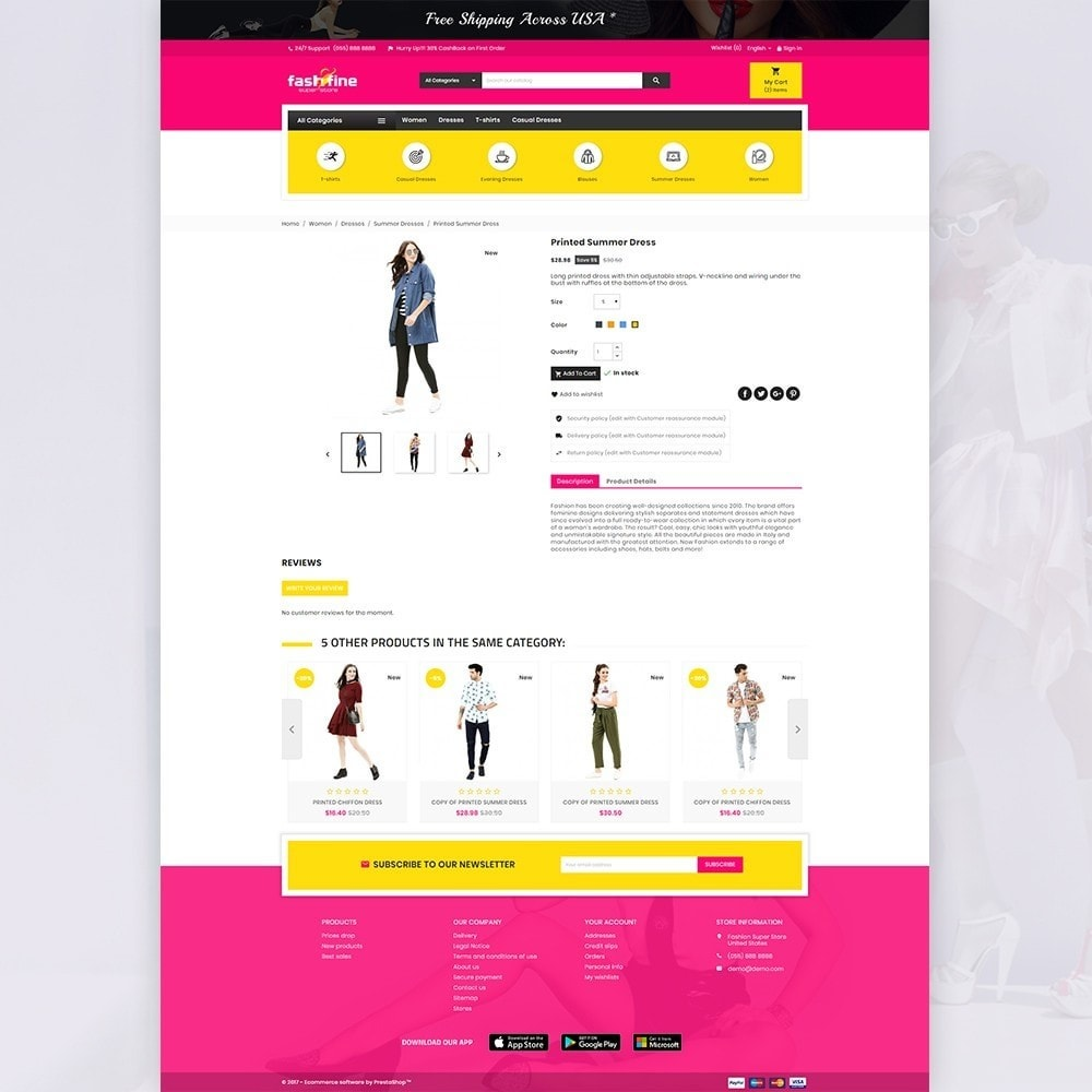 theme - Fashion & Shoes - FashFine–Fashion and LifeStyle Accessories Super Store - 4