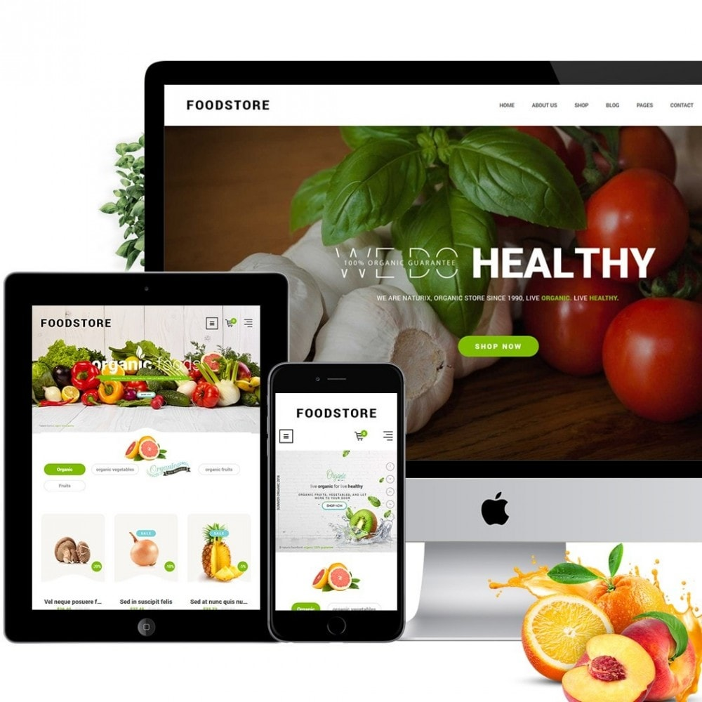theme - Lebensmittel & Restaurants - FoodStore II - 3