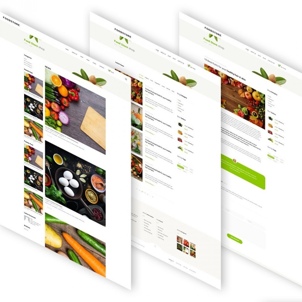 theme - Lebensmittel & Restaurants - FoodStore II - 5