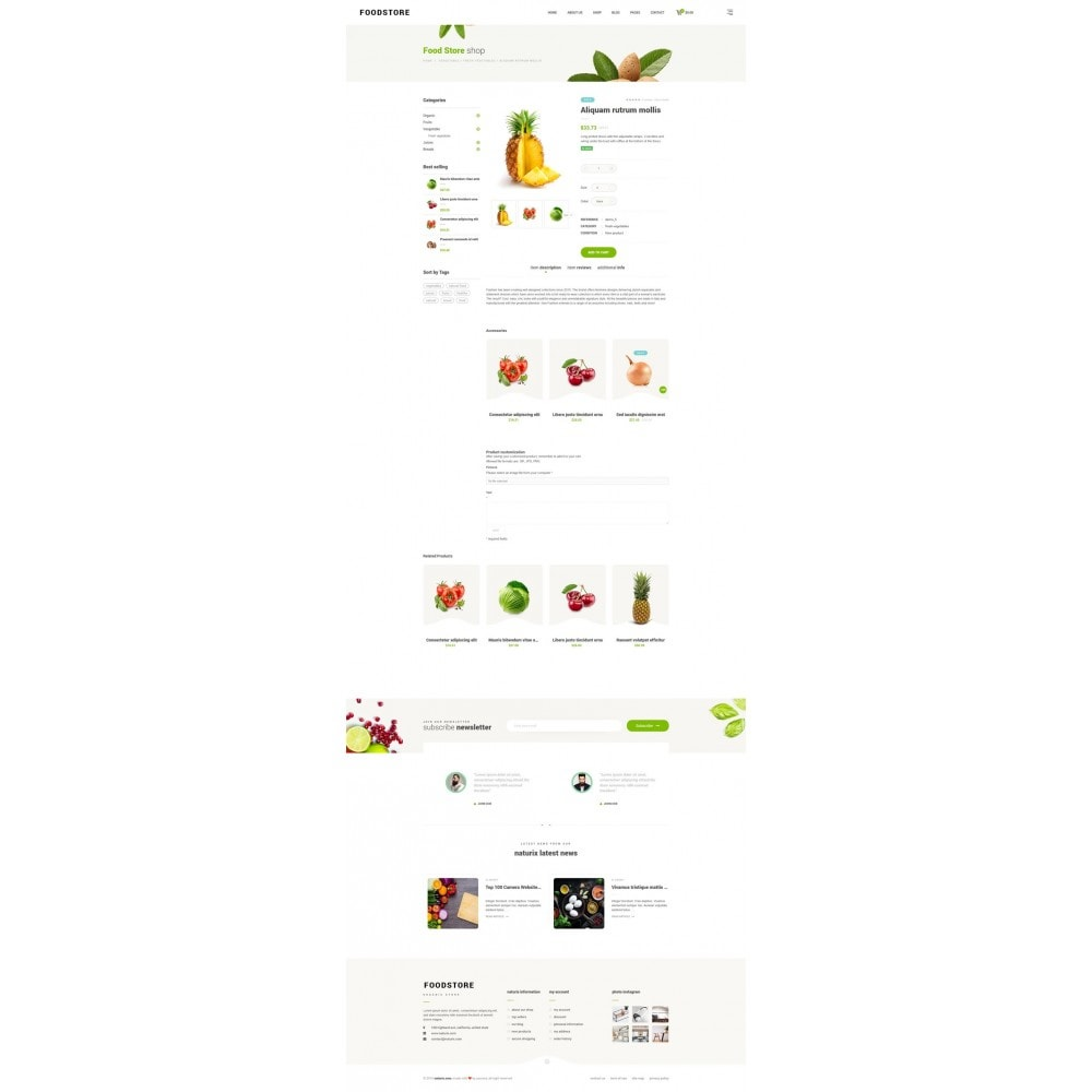 theme - Lebensmittel & Restaurants - FoodStore II - 9
