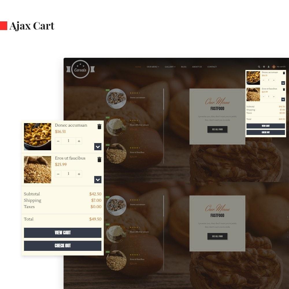 theme - Alimentos & Restaurantes - Leo Cereals - 2
