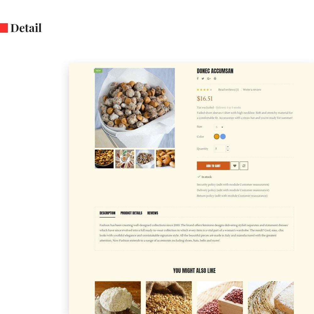 theme - Alimentos & Restaurantes - Leo Cereals - 7