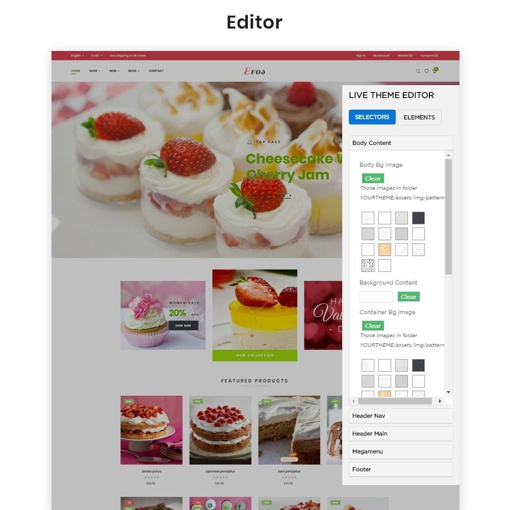 theme - Продовольствие и рестораны - Leo Eros Cake Store - 3