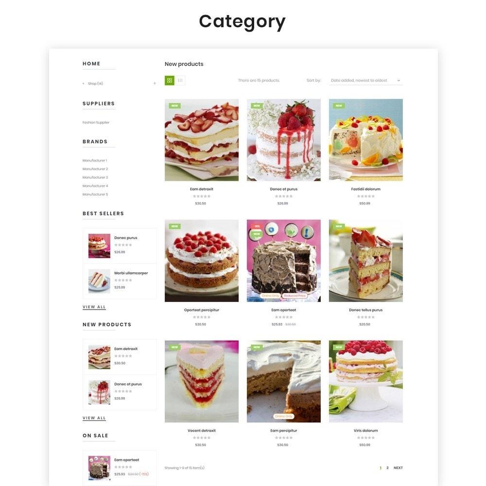 theme - Продовольствие и рестораны - Leo Eros Cake Store - 5