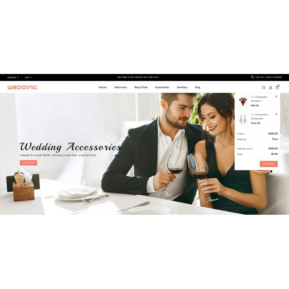 theme - Mode & Chaussures - Wedding Collection Store - 8