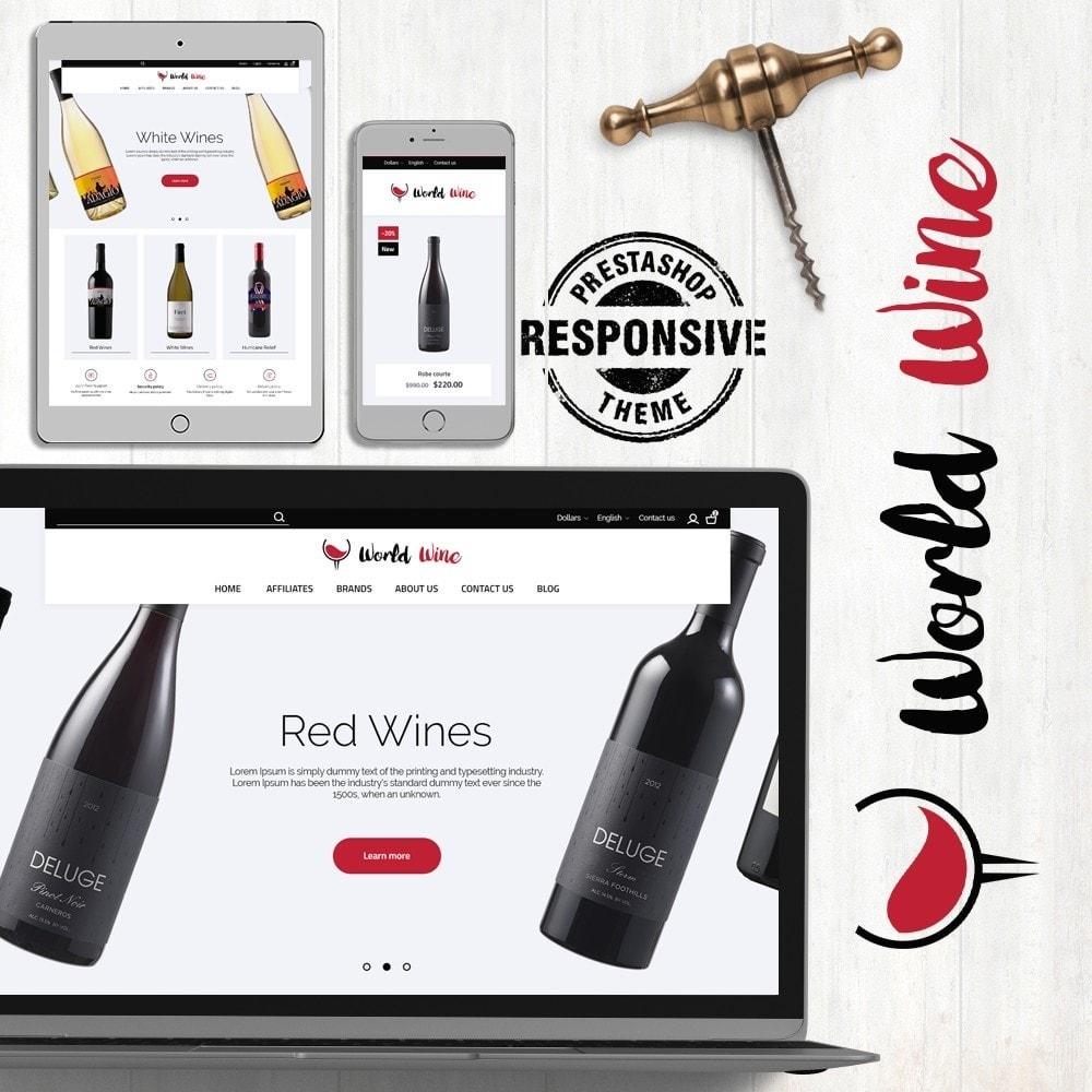 theme - Bebidas & Tabaco - World Wine Shop - 1
