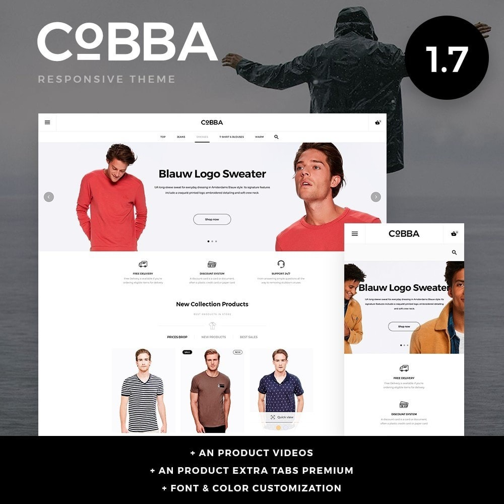 theme - Moda & Calzature - Cobba Men's Wear - 1