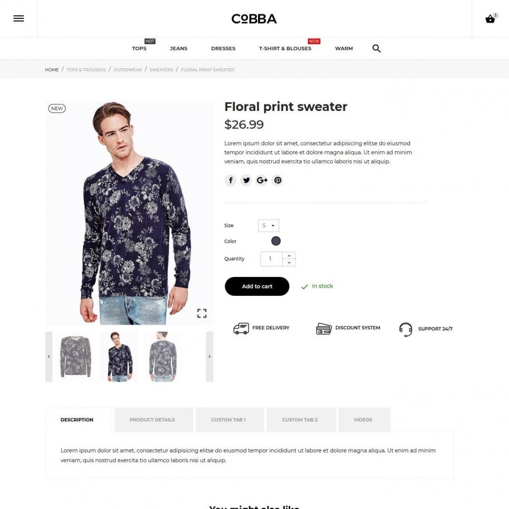theme - Moda & Calzature - Cobba Men's Wear - 9