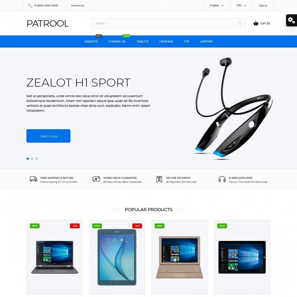 Patrool - High-tech Shop