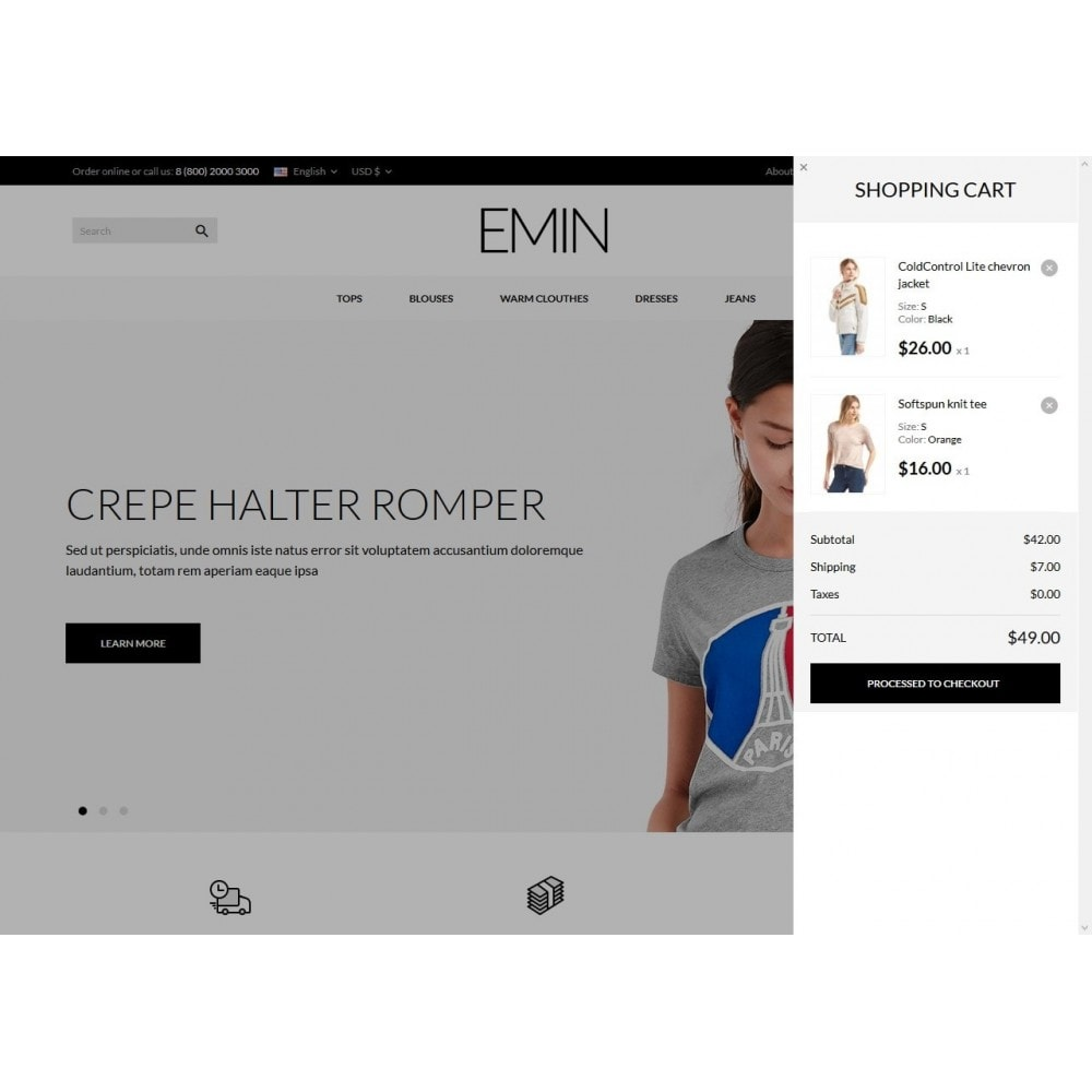 theme - Mode & Chaussures - Emin Fashion Store - 3