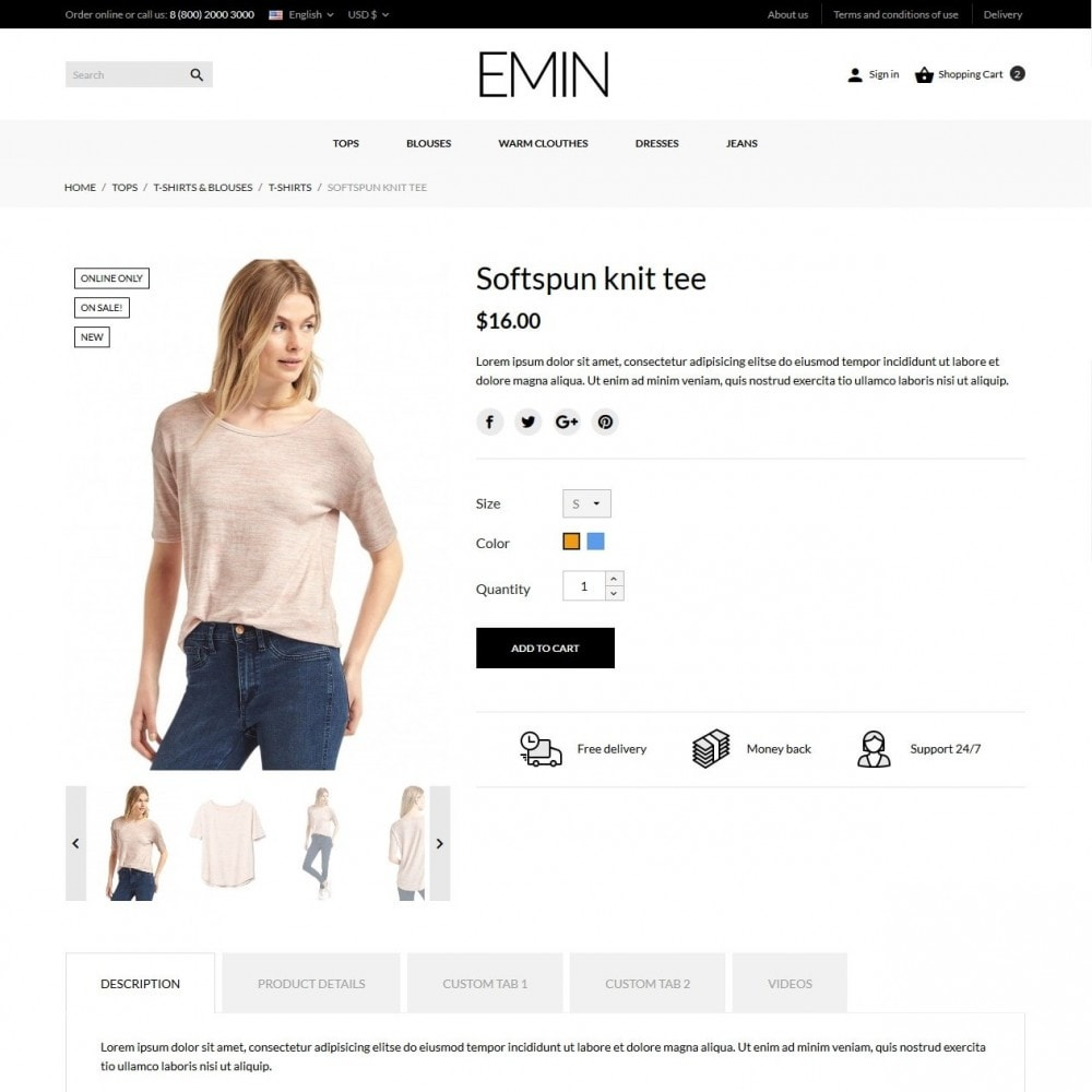 theme - Fashion & Shoes - Emin Fashion Store - 7