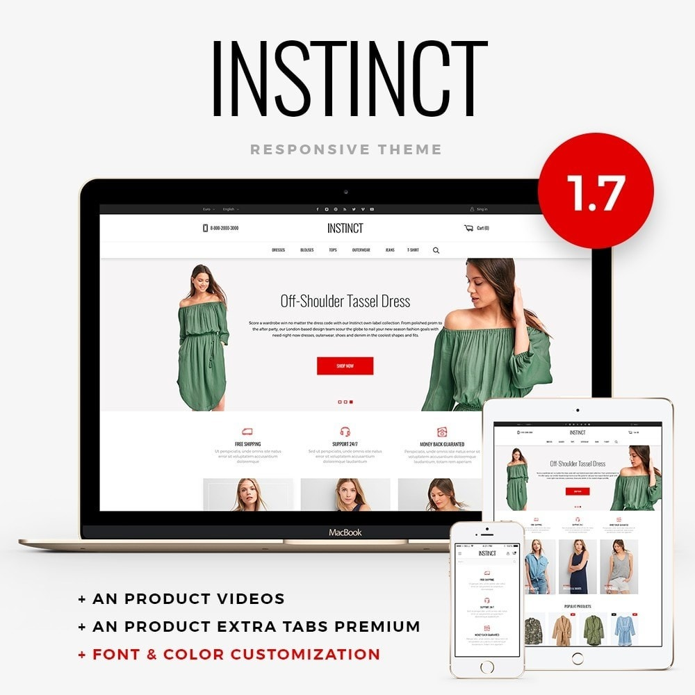 Instinct Fashion Store