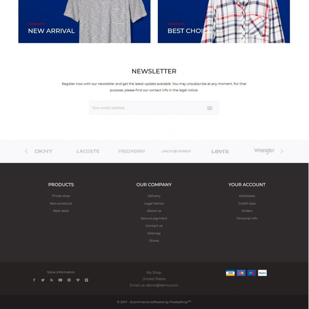 theme - Мода и обувь - Instinct Fashion Store - 5