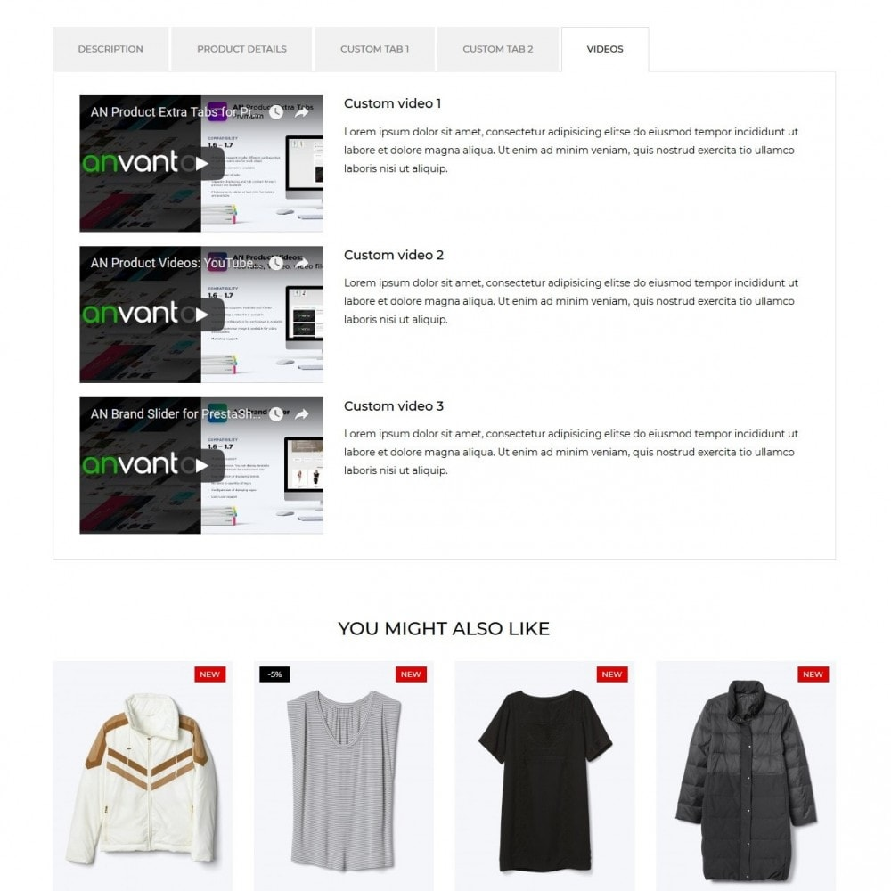 theme - Мода и обувь - Instinct Fashion Store - 9