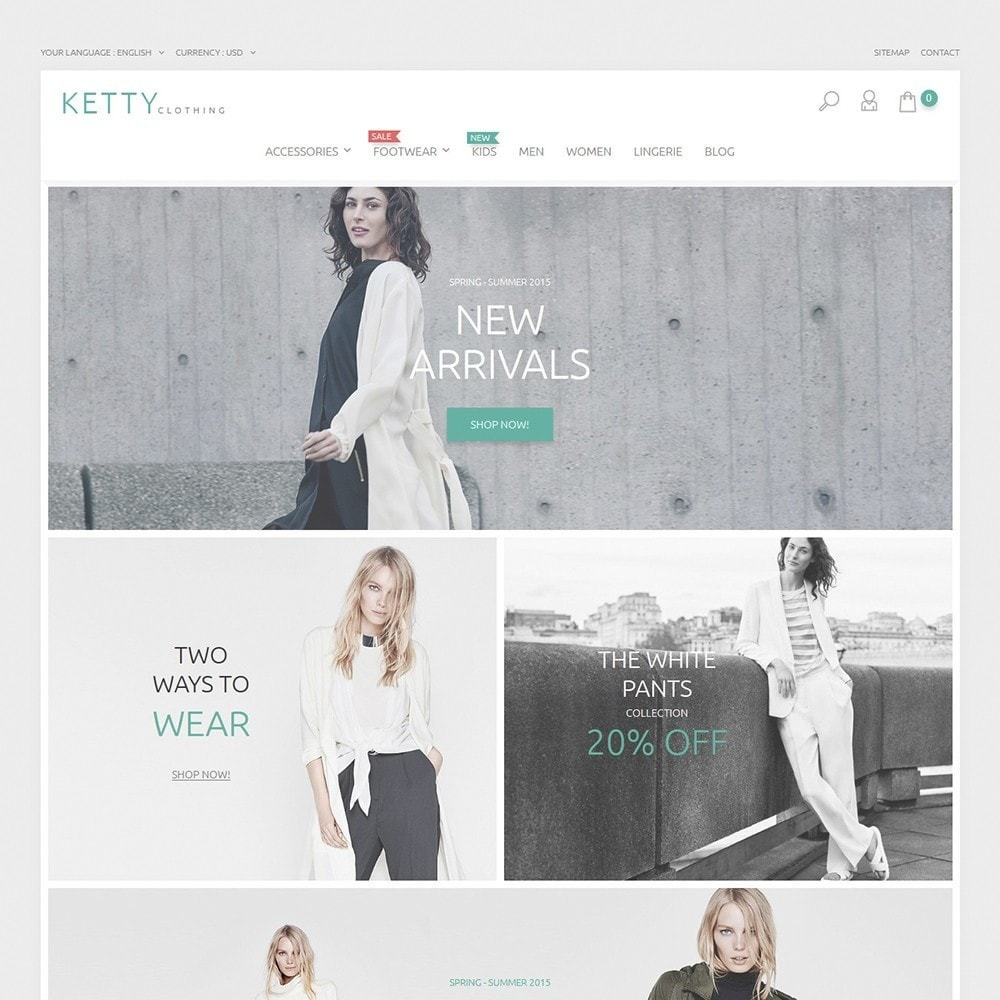 theme - Mode & Chaussures - Ketty Clothing - 2